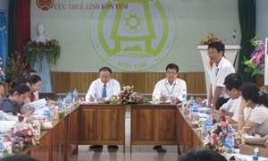 Cục Thuế Kon Tum: Năm nhiệm vụ và tám giải pháp