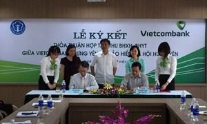 Vietcombank và Bảo hiểm xã hội Hưng Yên ký kết thỏa thuận hợp tác