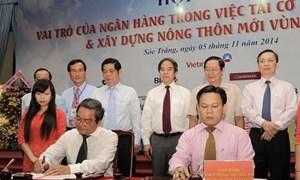 Vietcombank Tiền Giang và Công ty TNHH Việt Hưng ký hợp đồng tín dụng