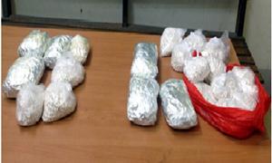Hải quan Quảng Ninh: Bắt 2 đối tượng vận chuyển trái phép trên 8 kg chất nghi là ma túy