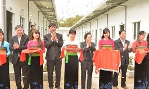 Vietcombank tặng nhà ở nội trú và học bổng tại Thanh Hóa
