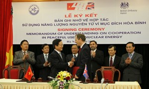 Việt Nam chủ động hợp tác quốc tế trong lĩnh vực năng lượng nguyên tử
