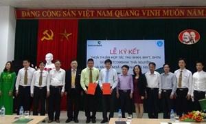 Vietcombank hợp tác thu tiền bảo hiểm tại Thái Nguyên