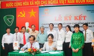 Vietcombank cho vay phát triển nông nghiệp, nông thôn tại Quảng Ngãi