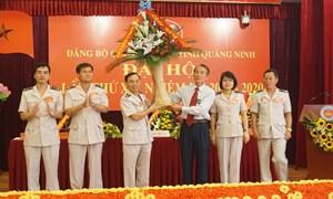 Đảng bộ Cục Hải quan Quảng Ninh: Tổ chức thành công Đại hội đại biểu lần thứ XII