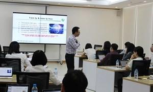 Vietcombank tổ chức đào tạo