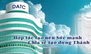 DATC bán cổ phần tại Công ty Cổ phần Thủy điện Sông Ông