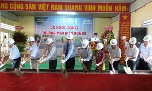 Vietcombank tài trợ 20 tỷ đồng xây trường học tại Hậu Giang