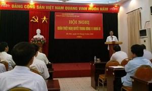 DATC tổ chức Hội nghị quán triệt Nghị quyết Trung ương 11 khóa XI