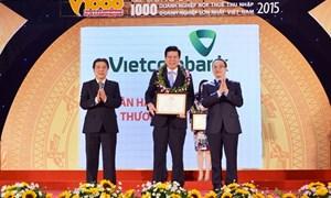 Vietcombank - Top 10 doanh nghiệp nộp thuế lớn nhất