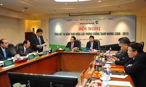 Vietcombank thực hiện nghiêm Luật Phòng, chống tham nhũng