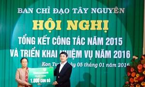 Vietcombank tặng thêm 1.000 con bò cho đồng bào Tây Nguyên