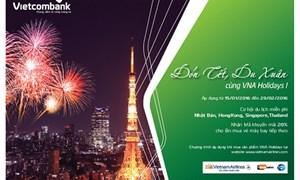 Thẻ Vietcombank: Nhiều ưu đãi nhân dịp Xuân mới