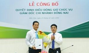Vietcombank điều động nhân sự một số chi nhánh