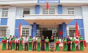 Vietcombank bàn giao Trạm y tế cho Quảng Ngãi