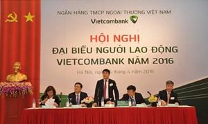 Vietcombank tổ chức hội nghị đại biểu người lao động năm 2016