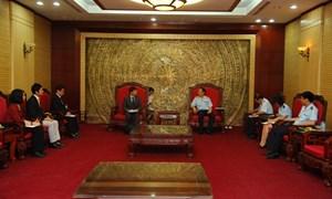 Tổng cục trưởng Tổng cục Hải quan tiếp xã giao đại diện Jica tại Việt Nam