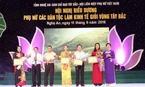 Vietcombank đồng hành cùng Hội nghị biểu dương phụ nữ các dân tộc làm kinh tế giỏi Tây Bắc