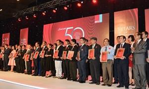 Vietcombank vào Top 50 Công ty Kinh doanh hiệu quả nhất Việt Nam năm 2016