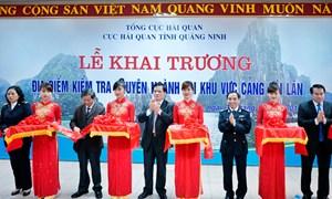 Hải quan Quảng Ninh: Nâng cao hiệu quả hoạt động kiểm tra chuyên ngành