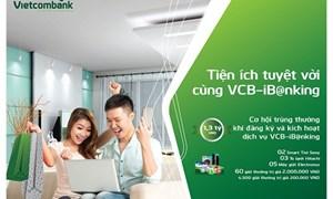 Tiện ích tuyệt vời cùng VCB-ib@nking