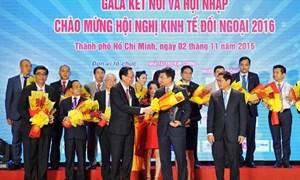 Vietcombank đồng hành cùng Hội nghị Kinh tế đối ngoại năm 2016