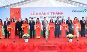 Vietcombank tài trợ hơn 5 tỷ đồng xây trạm y tế tại Nam Định