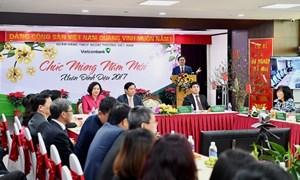 Lãnh đạo cao cấp của Chính phủ chúc Tết Vietcombank