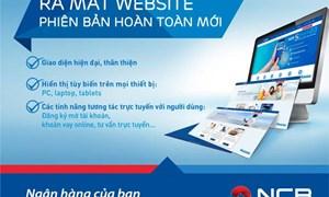 NCB ra mắt website phiên bản mới