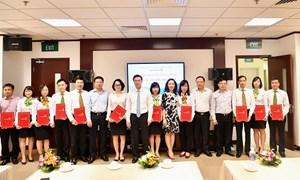 Vietcombank công bố các quyết định nhân sự tại Trụ sở chính