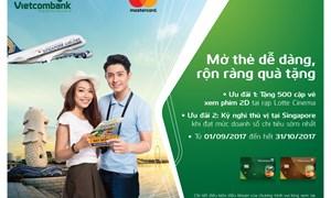 Nhiều ưu đãi hấp dẫn dành cho chủ thẻ Vietcombank Mastercard