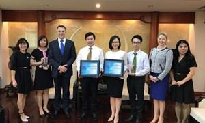 Vietcombank nhận giải của Ngân hàng JP Morgan Chase