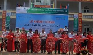 Vietcombank tài trợ xây trường học tại Phú Thọ