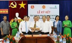 Vietcombank phối hợp thu ngân sách nhà nước tại Kon Tum