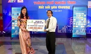 Vietcombank ủng hộ 2 tỷ đồng Chương trình