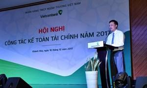 Vietcombank tổ chức hội nghị kế toán năm 2017