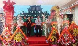 Vietcombank Ninh Bình khai trương Phòng giao dịch Nho Quan