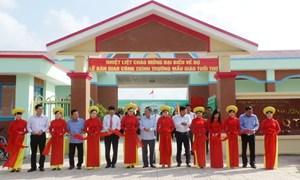 Vietcombank tài trợ 10 tỷ đồng xây trường học tại Hậu Giang