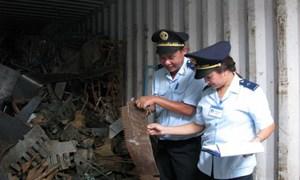 Siết chặt phế liệu nhập khẩu tại các cảng