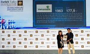 Vietcombank - Thương hiệu ngân hàng có giá trị nhất tại Việt Nam