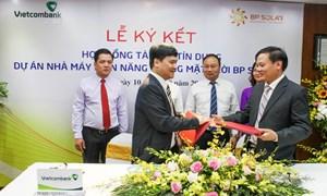 Vietcombank tài trợ tín dụng 785 tỷ đồng cho Dự án Điện mặt trời BP Solar 1
