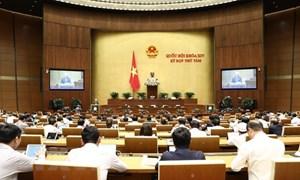 [Infographic] Kỳ họp thứ 8, Quốc hội Khóa XIV: Thông qua Nghị quyết về phát triển kinh tế - xã hội năm 2020