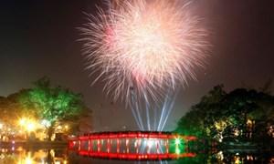 Hà Nội công bố những điểm bắn pháo hoa đêm Giao thừa