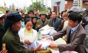 Bộ Tài chính xuất cấp gạo cho 3 tỉnh dịp Tết Nguyên đán