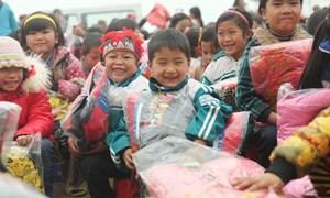 6,3 tỷ đồng hỗ trợ trẻ em, hộ gia đình nghèo vùng dân tộc thiểu số