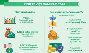 [Infographic] Kinh tế Việt Nam 2018
