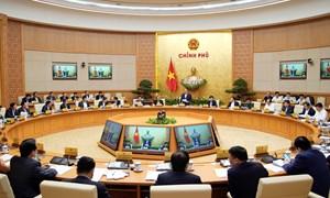 Chính phủ họp phiên thường kỳ tháng 2/2019