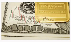 Vàng tăng vọt, tỷ giá và chứng khoán giảm vì FED