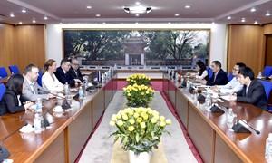 Thứ trưởng Trần Xuân Hà làm việc với Thứ trưởng Ngoại giao Cộng hòa Estonia
