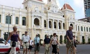 Lượng khách quốc tế đến TP. Hồ Chí Minh giảm mạnh trong tháng Hai